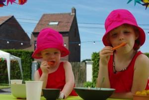 petits enfants et mes carottes bio